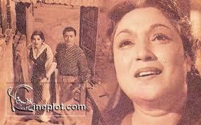 Lalita Pawar with Dev Anand