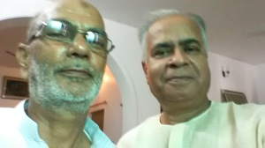 With My Friend Mohd. Masood Saheb at His Lucknow Residence